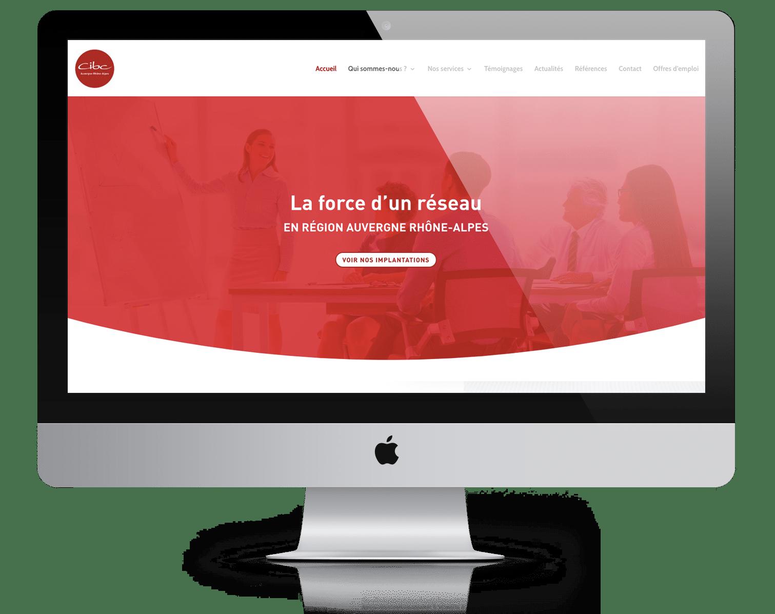 réalisations de sites web lyon : référence CIBC