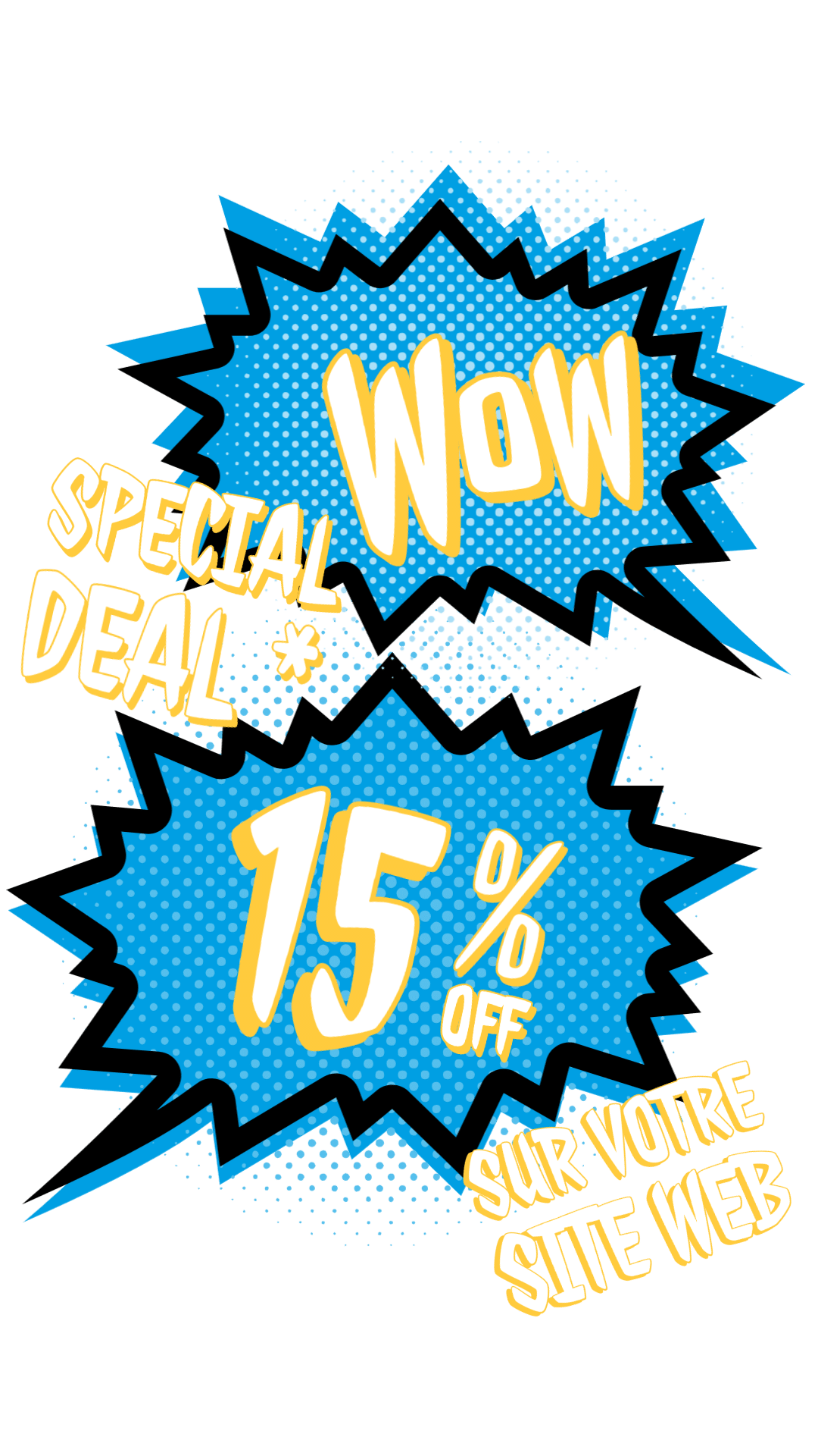 tarifs sites web remise special deal
