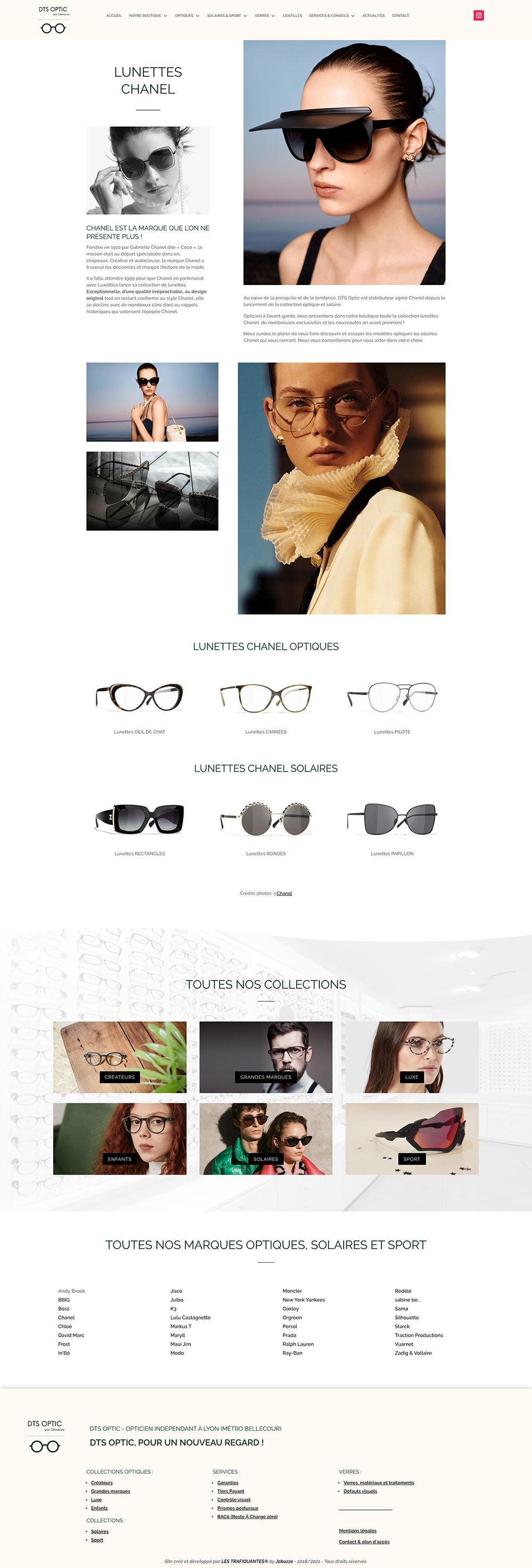 site web dts optic 2021